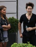 Jared Leto and Nina Senicar
