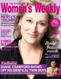 Meryl Streep on the cover of Womens Weekly (Australia) - February 2012