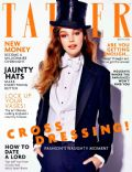 Millie Rose Loggie on the cover of Tatler (United Kingdom) - May 2014