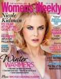 Nicole Kidman on the cover of Womens Weekly (Australia) - June 2014
