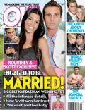 Kourtney Kardashian, Kourtney Kardashian and Scott Disick, Scott Disick on the cover of Ok (United States) - February 2011