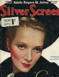 Marlene Dietrich on the cover of Silver Screen (United States) - June 1933