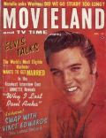Elvis Presley on the cover of Movieland (United States) - June 1963