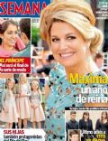 Princess Máxima of the Netherlands on the cover of Semana (Spain) - May 2014