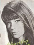 Françoise Hardy on the cover of Filmvilag (Hungary) - August 1963
