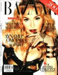 Madonna on the cover of Harpers Bazaar (Greece) - December 2013