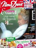 Queen Elizabeth II on the cover of Nous Deux (France) - June 2012