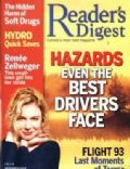 Renée Zellweger on the cover of Readers Digest (United States) - November 2004