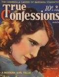 Barbara Stanwyck on the cover of True Confessions (United States) - March 1934