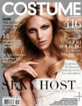 Anja Rubik on the cover of Costume (Norway) - October 2010