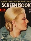 Ann Harding on the cover of Screen Book (United States) - July 1934