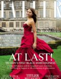Emma McQuiston on the cover of Tatler (United Kingdom) - May 2013