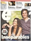 Isabel Macedo, Juan Navarro on the cover of Clarin (Argentina) - April 2012