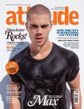 Max George on the cover of Attitude (United Kingdom) - September 2011