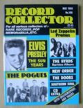 Elvis Presley on the cover of Record Collector (United Kingdom) - May 1988