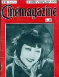 Anna May Wong on the cover of Cinemagazine (France) - November 1929