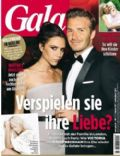 David Beckham, Victoria Beckham on the cover of Gala (Germany) - February 2013