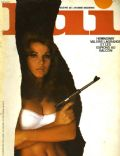 Valérie Lagrange on the cover of Lui (France) - January 1967