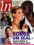 Heidi Klum, Seal on the cover of In (Germany) - October 2011