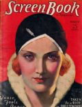Marlene Dietrich on the cover of Screen Book (United States) - March 1931