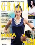 Luna Maya on the cover of Grazia (Indonesia) - January 2011