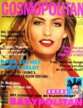 Tina Kjær on the cover of Cosmopolitan (Netherlands) - April 1993