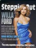 Willa Ford on the cover of Steppin Out (United States) - July 2007