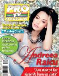 Andreea Raicu on the cover of Pro TV (Romania) - March 2012