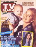 Grecia Colmenares on the cover of TV Guia (Argentina) - April 1993