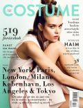 Josephine Skriver on the cover of Costume (Norway) - March 2014