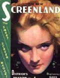 Marlene Dietrich on the cover of Screenland (United States) - March 1931