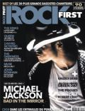 Michael Jackson on the cover of Rock First (France) - October 2012