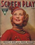 Anita Louise on the cover of Screen Play (United States) - December 1936