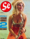Ingela Brander on the cover of Se (Sweden) - May 1965
