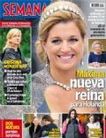 Princess Máxima of the Netherlands on the cover of Semana (Spain) - January 2013