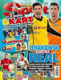 Cristiano Ronaldo, Robert Lewandowski on the cover of Bravo Sport (Poland) - April 2014