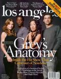 Ellen Pompeo, Ellen Pompeo and Patrick Dempsey, Patrick Dempsey, Sandra Oh on the cover of Los Angeles (United States) - September 2005