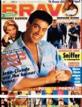 Jean-Claude Van Damme on the cover of Bravo (Germany) - June 1991