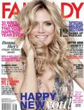 Heidi Klum on the cover of Fairlady (South Africa) - January 2014