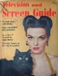 Jane Russell on the cover of Screen Guide (United States) - May 1951