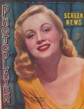 Virginia Mayo on the cover of The Photoplayer (Australia) - January 1947