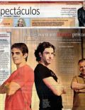 Leonardo Sbaraglia, Pablo Echarri on the cover of La Nacion (Argentina) - February 2009