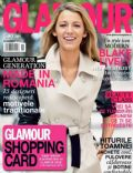Blake Lively on the cover of Glamour (Romania) - November 2013