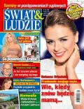 Natasza Urbanska on the cover of Swiat and Ludzie (Poland) - July 2013