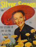 Gene Tierney on the cover of Silver Screen (United States) - June 1951