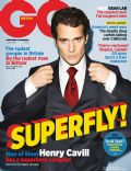 Henry Cavill on the cover of Gq (United Kingdom) - June 2013