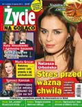 Natasza Urbanska on the cover of Zycie Na Goraco (Poland) - January 2013