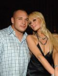 Paris Hilton and Brian Urlacher