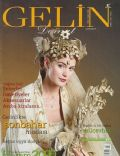 Yasemin Kozanoglu on the cover of Gelin (Turkey) - October 2000