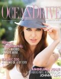 Angelina Jolie on the cover of Ocean Drive (Puerto Rico) - December 2010